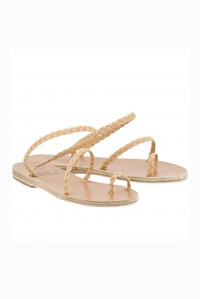 Eleftheria Braided Sandal Tan