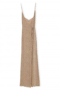 Printed Georgette Strap Dress