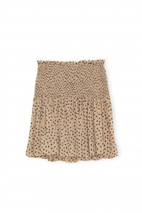 Printed Georgette Smock Skirt