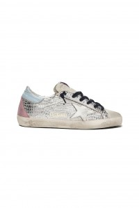 Sneakers Superstar Silver Cocco White Star
