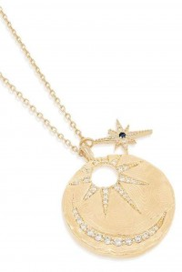 Gold Live and Love Necklace