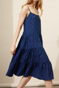 Indigo Star Sun Dress