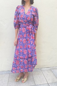Rovanna Wrap Dress Jaipur