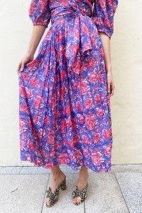 Poppy Jaipur Floral Skirt