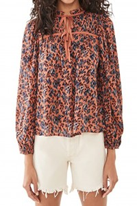 Jeanne Blouse Rosewood