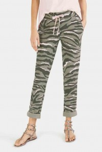Jungle Zebra Sweat Pant