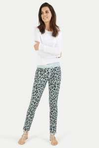 Ocean Leopard Sweat Pant
