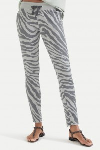Seafoam Zebra Sweat Pant