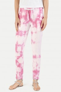 Tie Dye Sweat Pant Bubblegum Pink