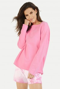 Oversized Sweater Neon Pink