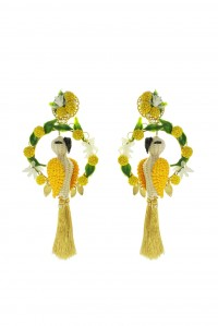 King Cockatoo Earrings