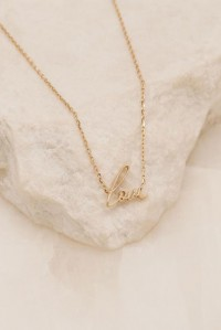 14k Gold All You Need Necklace