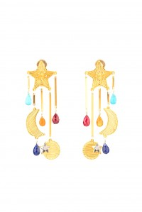 Magical Rainbow Star Earrings
