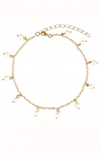 Isla Anklet Pearl