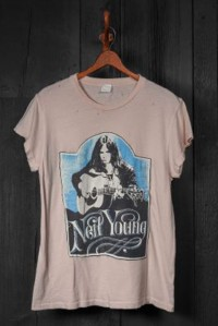 Neil Young Guitar Tee