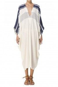 Batwing Sleeve Nautical Long Kaftan