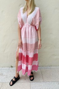 Eshal Plunge Neck Dress