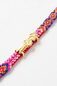 Pyramid of the Sun Friendship Band Gold