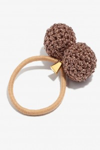Rock Formation Hair Tie Bronze and Taupe