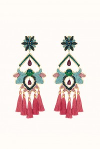 Rose Paramo Flower Earrings