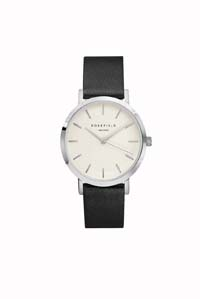The Gramercy Watch White / Black / Silver