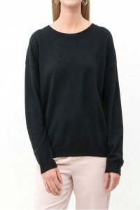 Astrid Pure Cashmere Sweater Black