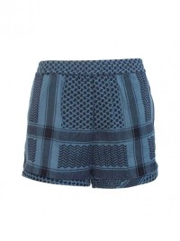 Cecilie Shorts Blue
