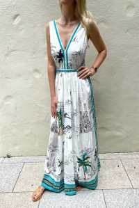 Sophia Prehistoric Positano Dress