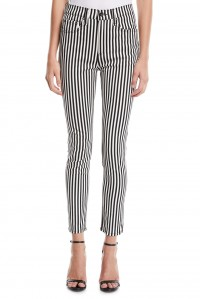 High Rise Skinny Stripe