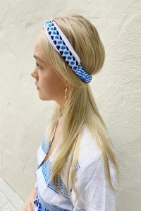 Twisted Turban Blue