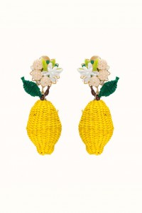 Wild Lemon Earrings